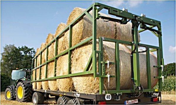 Remorcă (platformă) de transportat baloți