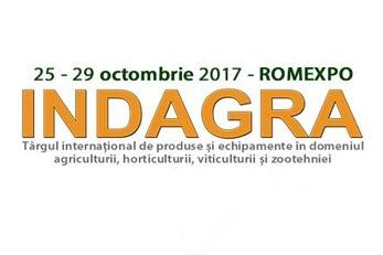 IPSO AGRICULTURĂ PARTICIPĂ LA TÂRGUL INDAGRA 2017