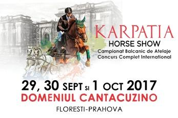 IPSO AGRICULTURĂ PARTICIPĂ LA KARPATIA HORSE SHOW 2017