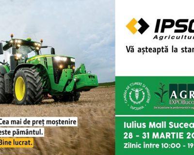 IPSO AGRICULTURĂ PARTICIPĂ LA AGRO EXPO BUCOVINA