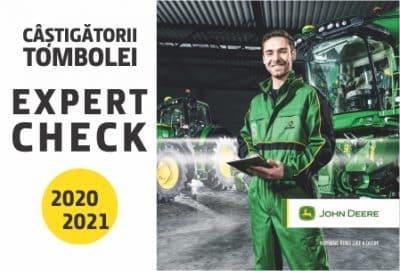 CÂȘTIGĂTORII TOMBOLEI EXPERT CHECK 2020 – 2021